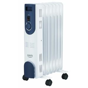 Масляный радиатор Oasis OT-15, 7 секций